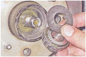 Замена ступичного подшипника ВАЗ 2107. Видео как поменять ступицу или сам подшипник