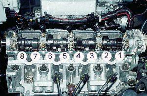 Схема регулировки клапанов в 2106