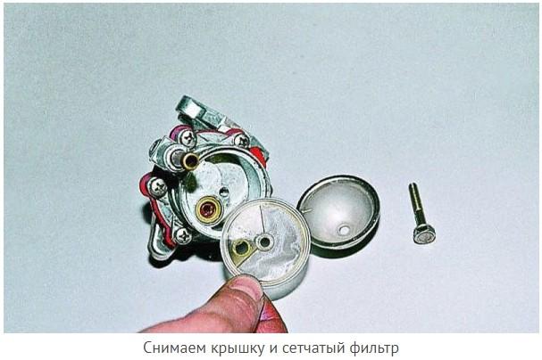 Сетчатый фильтр топливного насоса