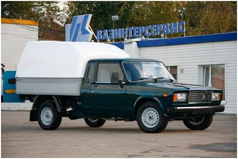 Фургон на базе ВАЗ 2107