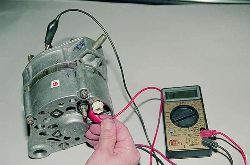 Как проверить работоспособность генератора в домашних условиях 363